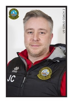 U9 GIRLS COACH 2 JOHN CHAPMAN
